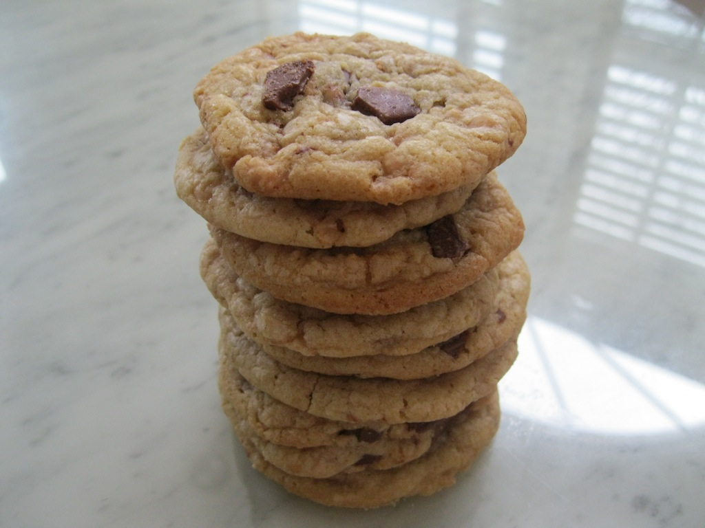 how to make toffee cookies
