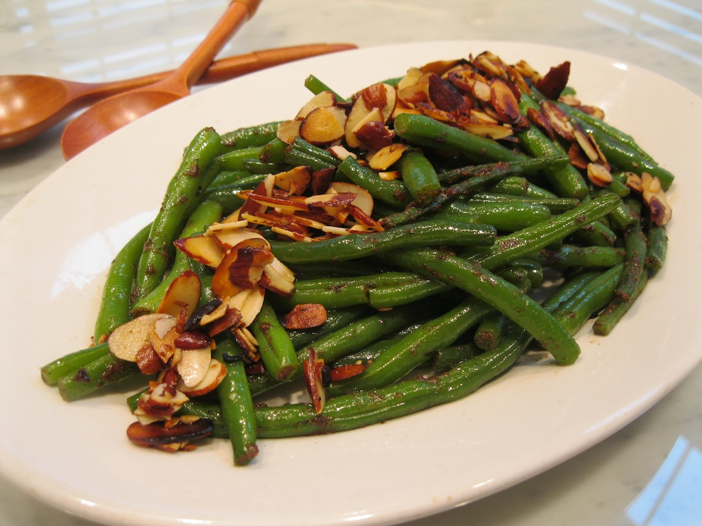 Green Beans with Garam Masala and Almonds