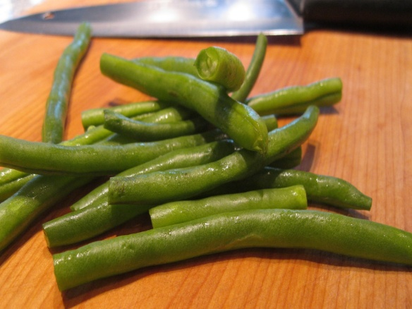 Green Beans With Garam Masala And Almonds Tasting Journal
