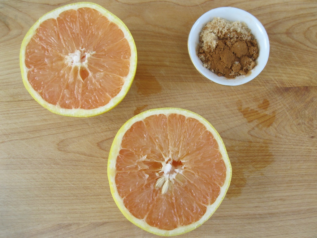 Broiled Grapefruit - Ingredients