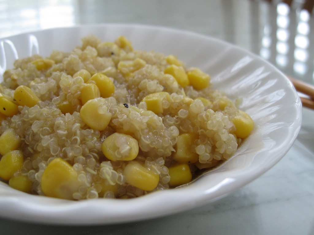 Quinoa with Roasted Corn