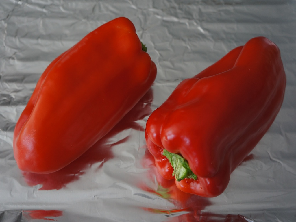 Roasted Red Bell Peppers 1