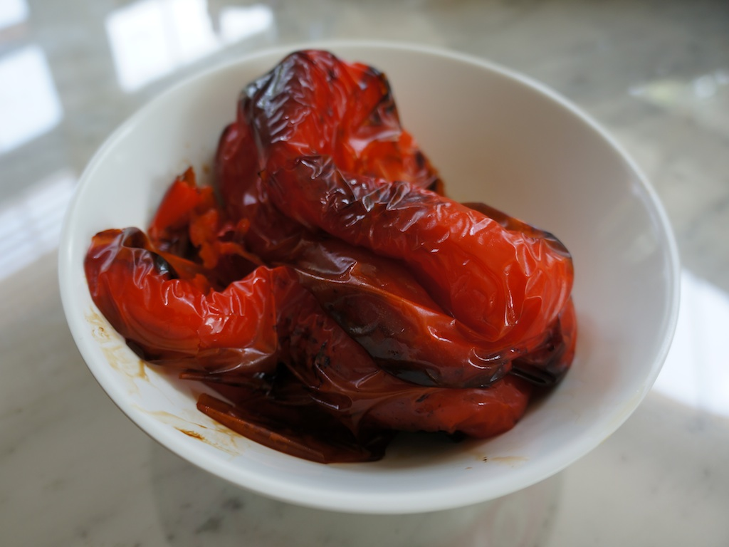 Roasted Red Bell Peppers 3